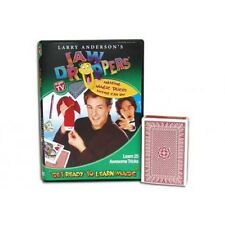 Jaw Droppers Mini Kit by Larry Anderson Has 25 Tricks, DVD and Trick Card Deck!