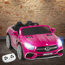 Mercedes Benz Kids Ride On Car 12V AMG Licensed Electric Remote Control Pink