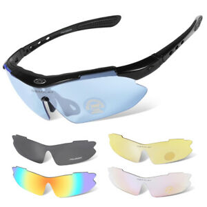 11In1 Unbreakable Sports Glasses Fits Men & Women for Cycling, Running, Sailing