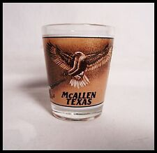 Shot Glass McAllen Texas American Bald Eagles Soaring Rio Grande  New 17