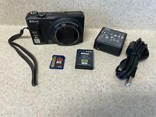 Nikon S9100 Coolpix Digital Camera  12.1 MP with 18x Optical Zoom Black