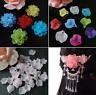 100pc 15mm DIY craft Petals Jewerly Making Bead Acrylic Hairwear Flower Beads