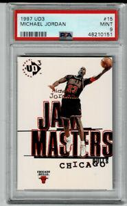 1997-98 Upper Deck UD3 Michael Jordan #15 PSA 9 MINT
