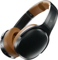 Skullcandy CRUSHER ANC Wireless Over the Ear Headphones w/ Mic-Refurb-BLACK/TAN
