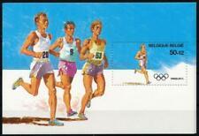 [16518] Belgium olympics good very fine MNH sheet X5