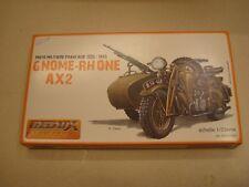Redux, Motociclo con sidecar  Francia, Gnome-Rhone AX 2