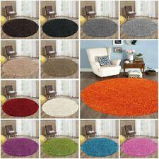 Circle Round Soft Shaggy Rug Kids Living room Bedroom Carpet Floor Area Rug