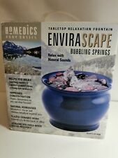 Brand New Homedics Envirascape bubbling springs Relaxation tabletop Fountain