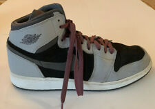 Nike Air Jordan 1 Retro High GG US 9.5Y WOLF GRY/BLK  332148-009