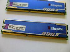 Kingston HyperX Blu 8GB DDR3 1600MHz RAM Memory Kit (2x 4GB)