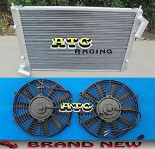 For 2002-2008 MINI COOPER S 1.6L R52 R53 2ROW ALUMINUM RACING RADIATOR & 2* FANS