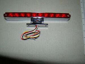 chrome pedestal 12v LED third brake light universal third brake light stop light