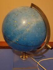 Vintage Hammond Lamp Scan Globe Celestial Kobenhavn Danmark 1975