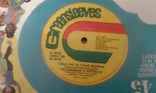 "Yellowman & Fathead , Hold On To Your Woman , Rub A Dub A Play , 12"" Greensleeve"