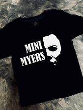KIDS - Mini Michael Myers / Halloween CUSTOM T-shirt - Version 2- Horror - child
