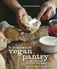 The Homemade Vegan Pantry--NEW Miyoko Schinner vegan staples cookbook