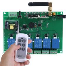 6 channel Relay Module with Remote Control RF Realy Transmitter & Receiver stw