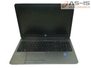 *AS-IS* HP ProBook 650 G1 Core i5-4210M 2.6GHz 4GB RAM 320GB HD BIOS Lock Laptop