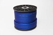 50 METRI 4 Awg Gauge oversize CCA Cavo di alimentazione flessibile True 25mm2 BLUE wire