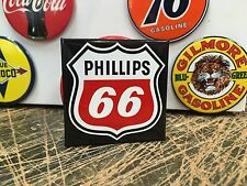 classic PHILLIPS 66 RED  WHITE LOGO full backed refrigerator MAGNET