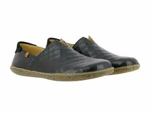 El Naturalista Viajero VAQUETILLA size EU45 men's black slip-on leather casual