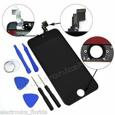 Black LCD Screen Replacement Digitizer Glass Assembly For iPhone 5C with tools