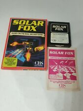 COMPLETE CIB SOLAR FOX GAME PAL VERSION FOR ATARI 2600  ( NOT FOR USA) G7