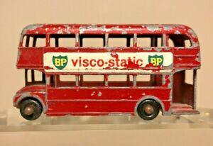 Vintage Matchbox/Lesney #5 ROUTEMASTER BP Visco-Static Miniature Old Red Toy Bus