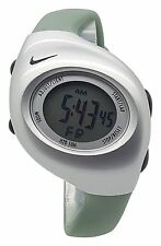 New Nike Kids Triax Junior WR0017 Explorer Green and Silver Digital 38mm Watch