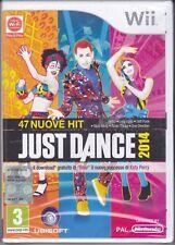 Nintendo Wii **JUST DANCE 2014** nuovo sigillato italiano pal