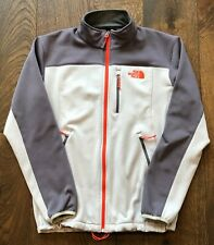 THE NORTH FACE TNF Momentum Jacket – Men's Large, Grey, Light Gray, Red Zippers