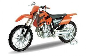 KTM 450 SX Racing, Welly Motorrad Modell 1:18