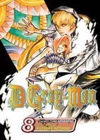 D. Gray-man, Vol. 8 by Katsura Hoshino  2008 VIZ Media Manga English