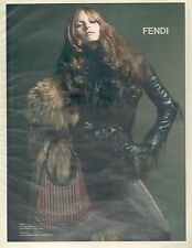 ▬► PUBLICITE ADVERTISING AD FENDI 2002