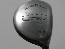 Taylormade Burner Supersteel 9.5* Driver Stiff S-90 Plus Graphite Very Nice!!
