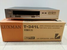 LUXMAN T-341L STEREO AM/FM TUNER - GOLD - VERY GOOD CONDITION!