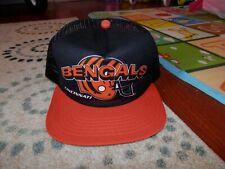 Cincinnati Bengals hats caps NFL Snapback NEW VINTAGE 1990's