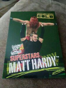 2001 Fleer Wrestlemania #3 Matt Hardy Championship Gold