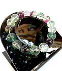 Bracelet Lithothérapie en Fluorite Bijoux en Pierre Naturelle Cadeau pour Femme