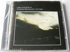 OMD - Organisation +6 Bonus Tracks CD NEW SEALED Orchestral Manoeuvres The Dark