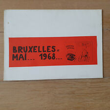 TINTIN PASTICHE BRUXELLES  MAI 1968