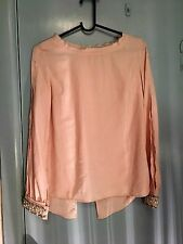 Guess top with stunning beading in a very light pink in size XS