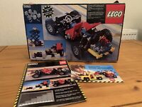 Vintage Lego Technic Car Chassis - 8860 - Boxed w/ Instructions - 99% Complete