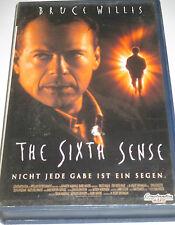The Sixth Sense - VHS/Thriller/Bruce Willis/Haley Joel Osmond/Constantin
