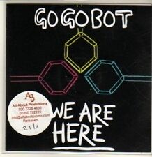 (CQ712) Go Go Bot, We Are Here - 2011 DJ CD