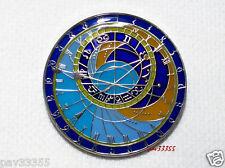 Prague Astronomical Clocks - Nickel Finish - New Unactivated Geocoin
