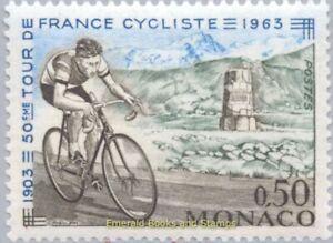 EBS MONACO 1963 - Tour de France - Cyclist of 1963 - YT 634 MNH**