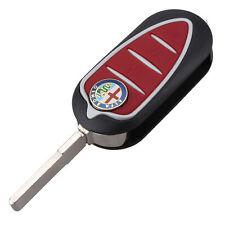 Fits for Alfa Romeo Mito Giulietta GTO 159 3 BUTTON REMOTE KEY FOB CASE BLADE