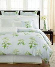 Barbara Barry Dream Springtime White Green California King Bedskirt $250.00 NIP
