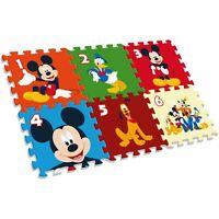 Mickey Mouse Mousse Tapis de Jeu Géant Puzzle disney Enfants 6 Pièces